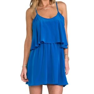 Lovers & Friends Blue Mini Dress